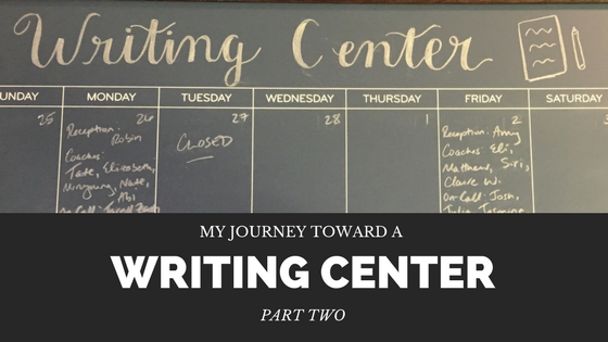 Writing Center title part 2
